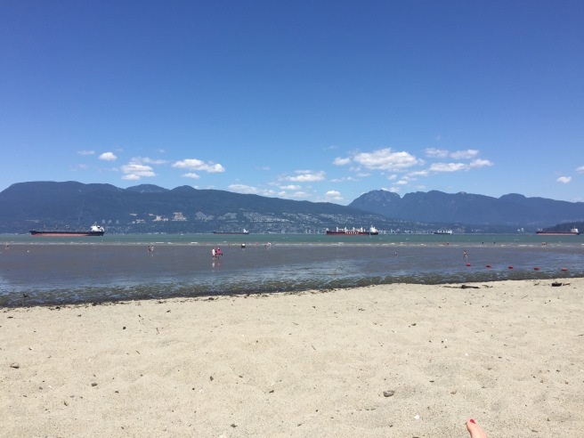 Low tide at Spanish Banks