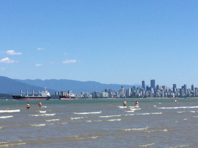 View of Downtown Vancouver from Spanish Banks
