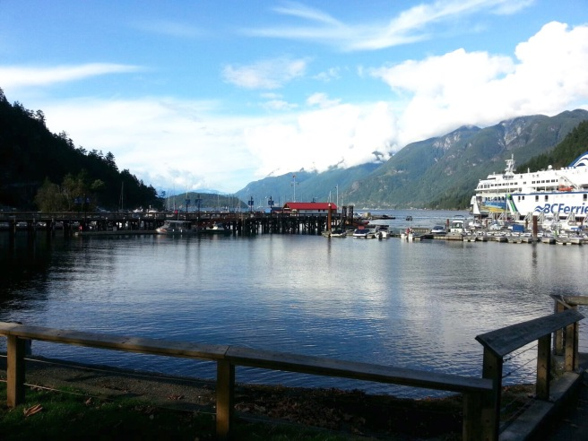 Horseshoe Bay. One of my favourite places for a quick walk or bite to eat.